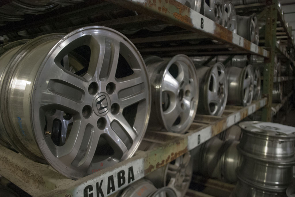 Junk Honda Rims Salvage