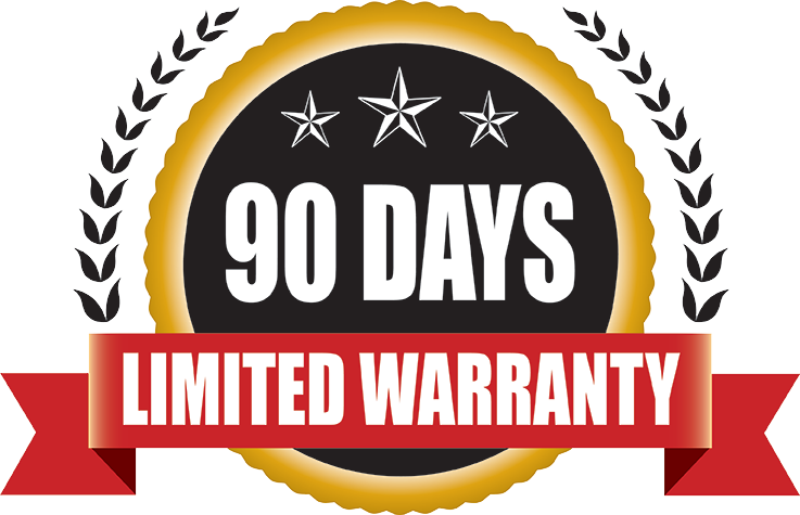 Beaver's 90 Day Limited Parts Warranty